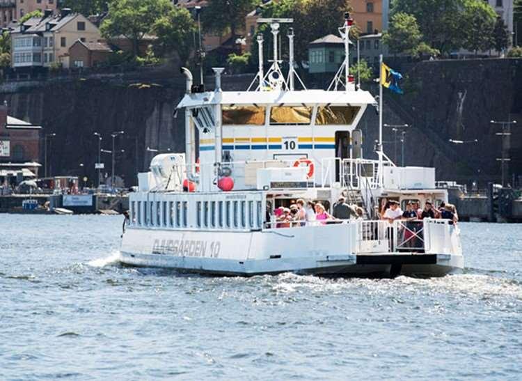 båt från hammarby sjöstad till gröna lund